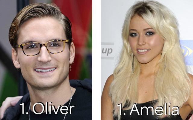 1 Oliver Amelia