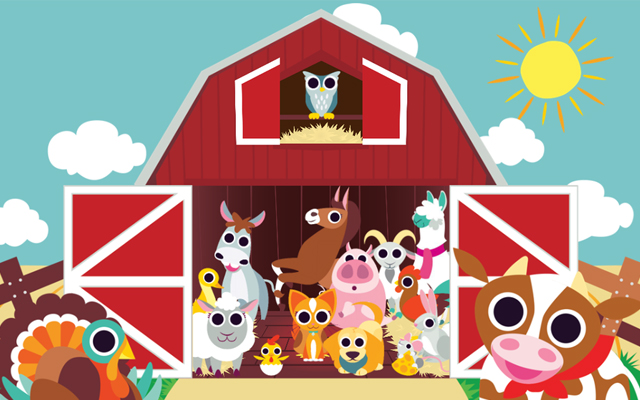 PeekaBoo Barn App Screenshot