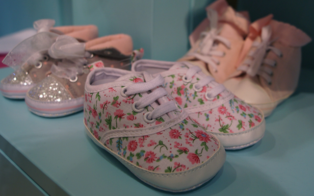 My 1st Years girl's trainers at Selfridges London