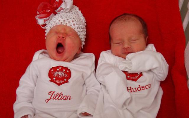 Superfetation babies