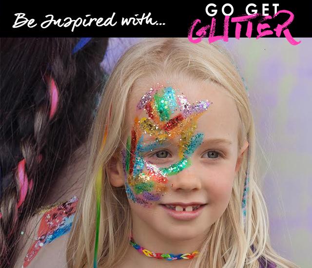 go get glitter halloween makeup feature image