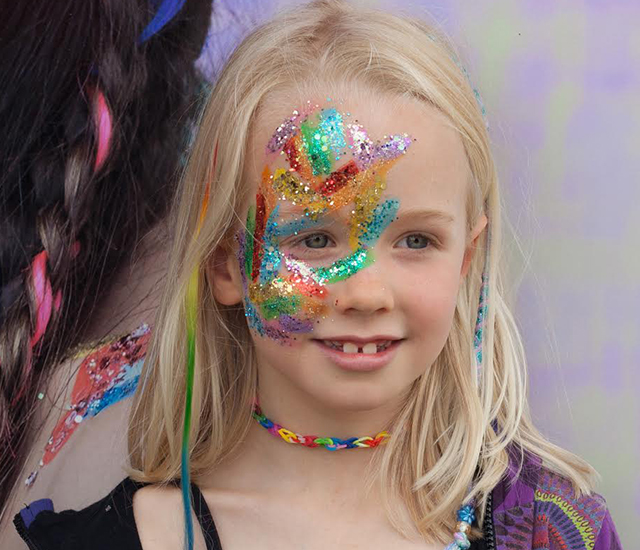 go get glitter kids halloween look