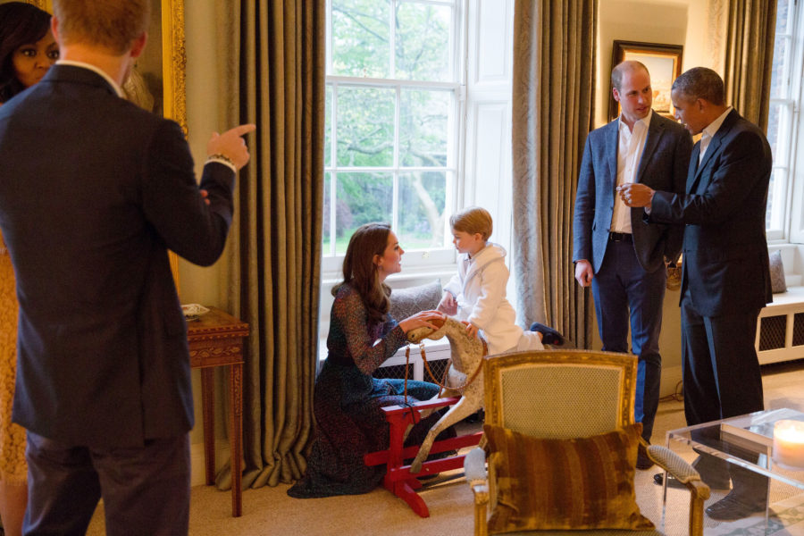 Photo credit: REX/Shutterstock Via Kensington Palace/Pete Souza/White House Photographer/