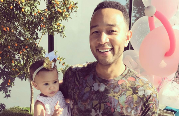 celebrity dads John legend
