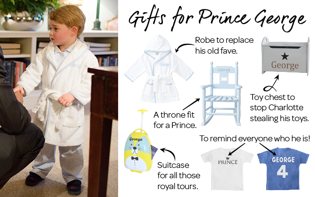 Prince George Gifts