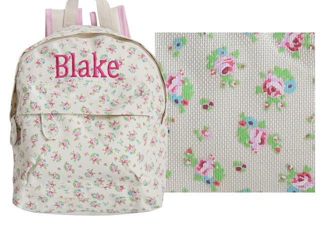 backpack prints floral