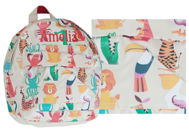 backpack prints animal