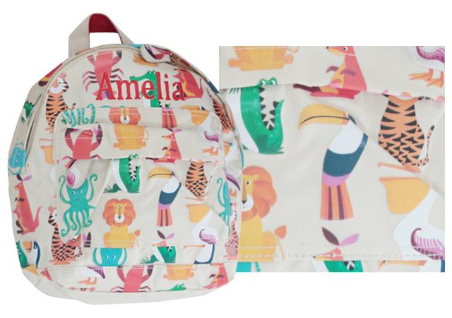 backpack prints animal