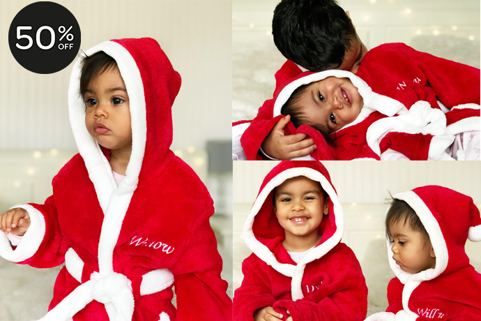 black friday offer santa robe