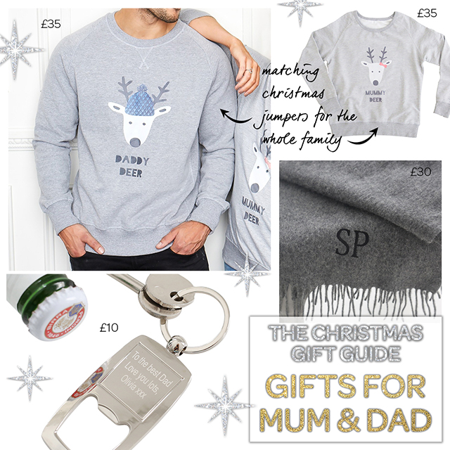 Christmas gifts for mummy & Daddy