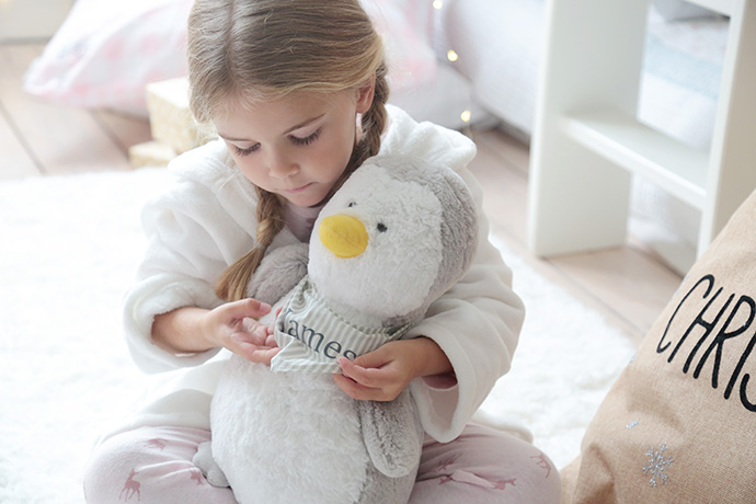 personalised penguin gift
