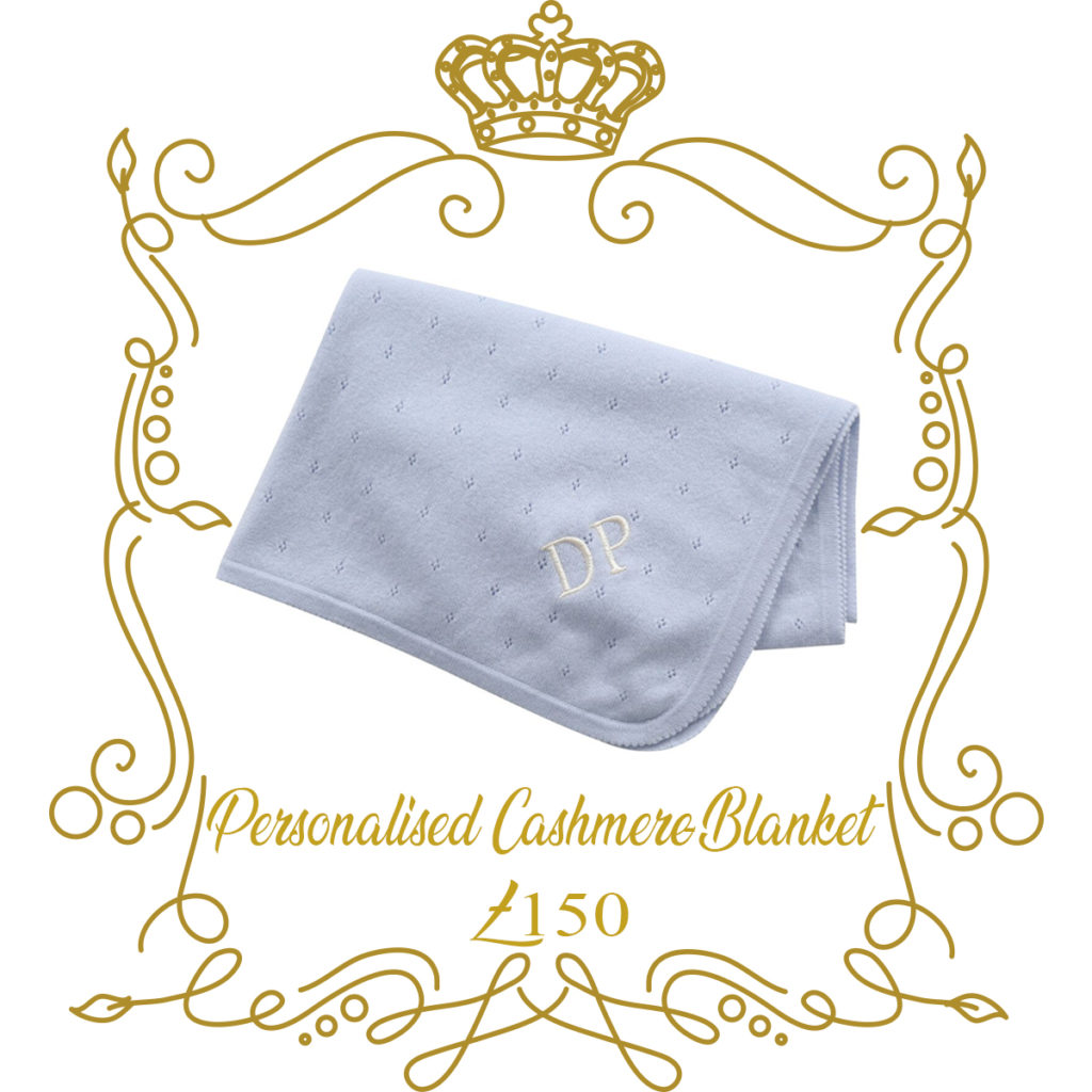 New Baby-Gift-Personalised-Cashmere-Blanket