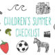 childrens-summer-checklist