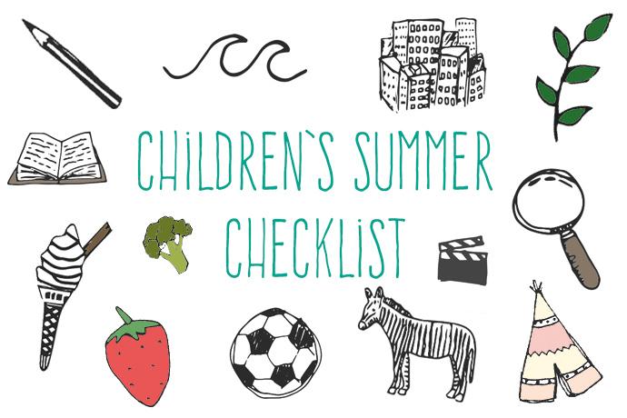 childrens-summer-checklist
