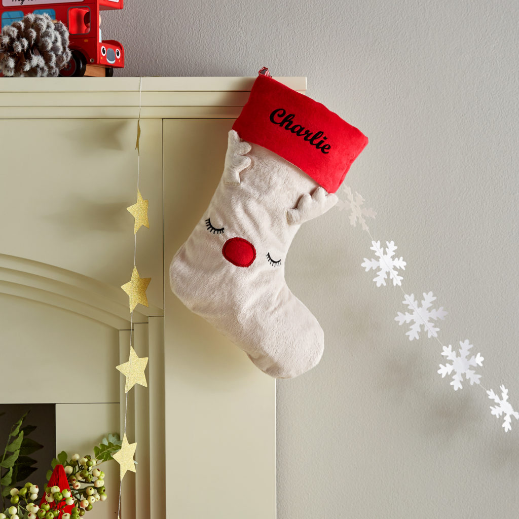 white-reindeer-stocking