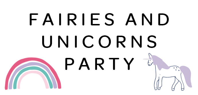 fairies and unicorns party themes