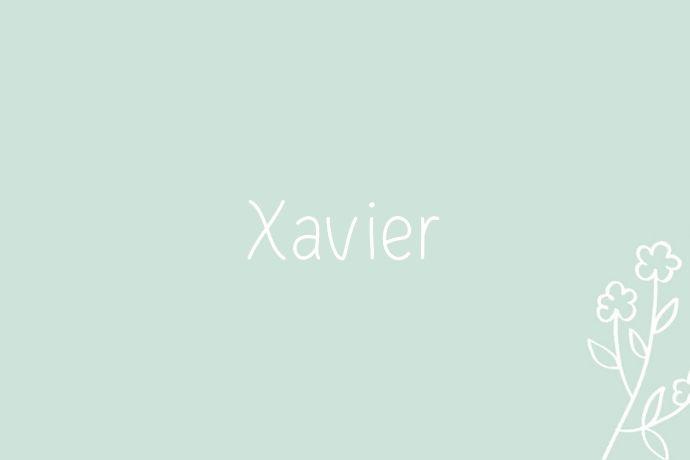 Xavier-spring-baby-name