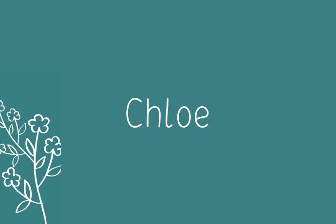 chloe-spring-names