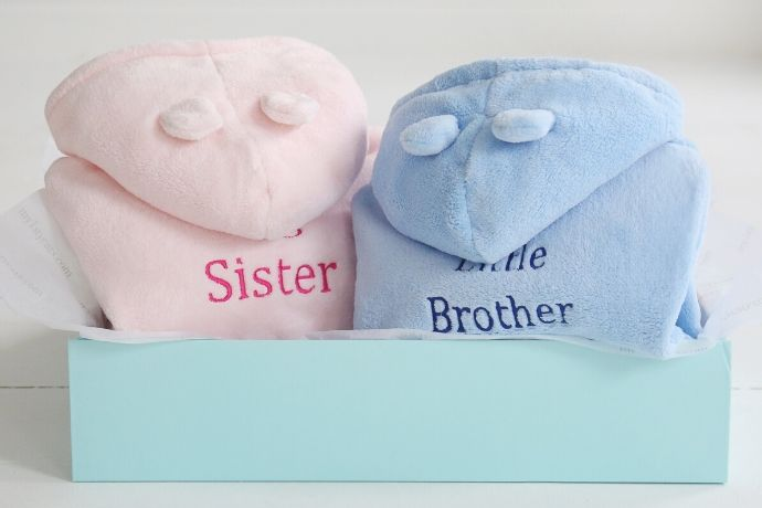 best-gifts-for-a-second-baby-sibling-robes