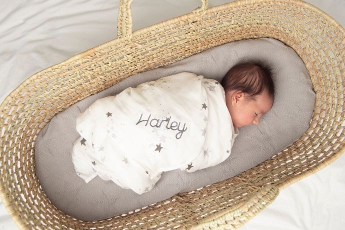 gifts-for-second-child-muslin-blanket