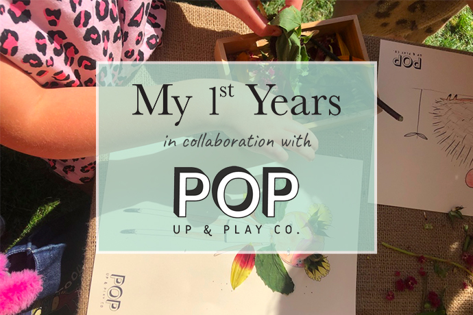 get creative in the garden with pop up and play