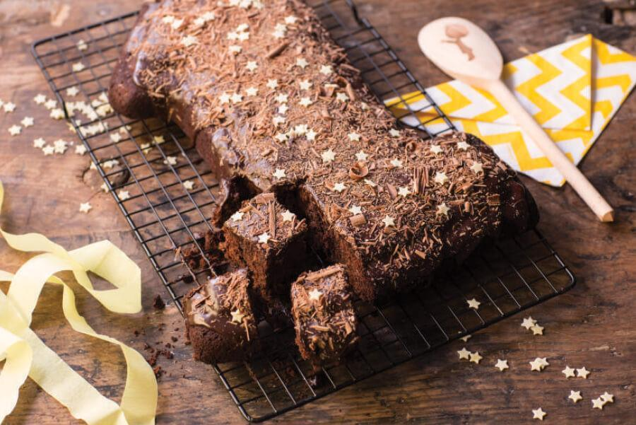 chocolate-brownie-cake