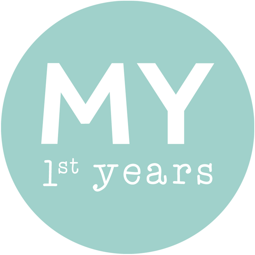 Personalised 1st birthday baby gifts ideas my 1st years personalised grey picture wall plaque negle Image collections