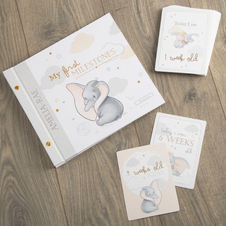 Personalised Dumbo Milestone Album