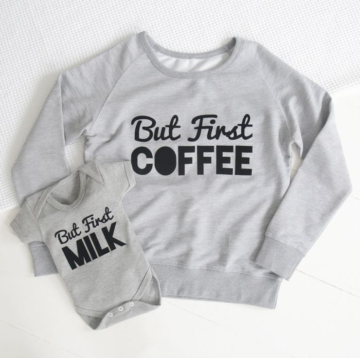 But first milk / But First coffee set