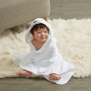 Personalised Polar Bear Hooded Towel