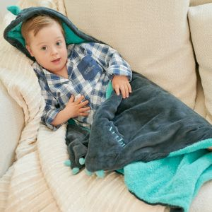 Personalised Dragon Hooded Throw