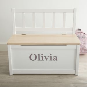 Personalised Toy Chest & Bench