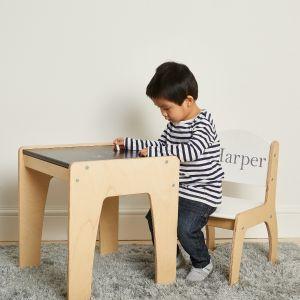 Personalised Chalkboard Desk & Chair Set
