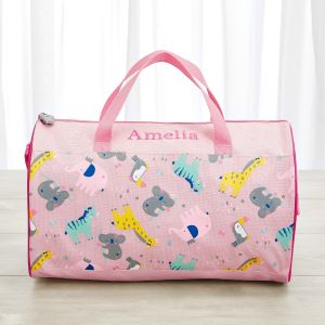 Personalised Koala & Friends Print Holdall
