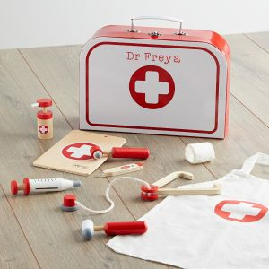 Personalised Wooden Doctor's Play Set