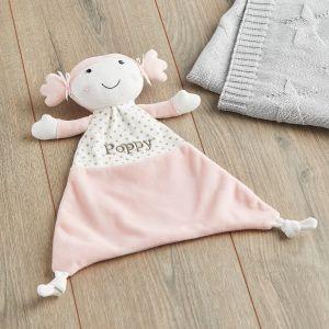 Personalised Pink Rag Doll Comforter