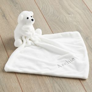 Personalised Polar Bear Comforter