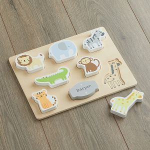 Personalised Jungle Animal Puzzle