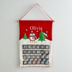 Personalised Penguin Advent Calendar