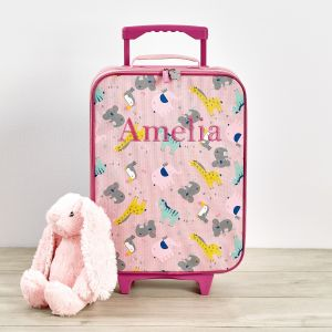 Personalised Koala & Friends Small Suitcase