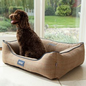 Personalised Tweed Pet Bed - Model