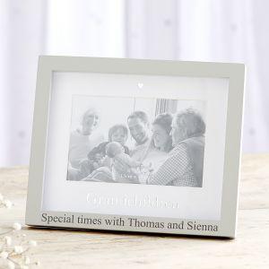 Personalised 'Grandchildren' Photo Frame