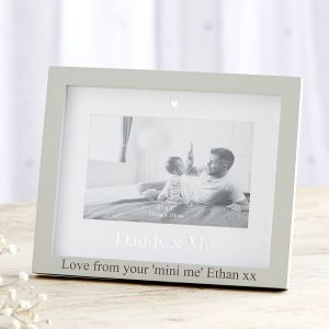 Personalised 'Daddy & Me' Photo Frame