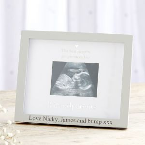 Personalised 'Grandparents' Scan Frame