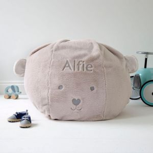 Personalised Children's Bear Beanbag