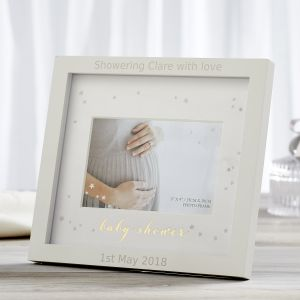 Personalised Baby Shower Photo Frame