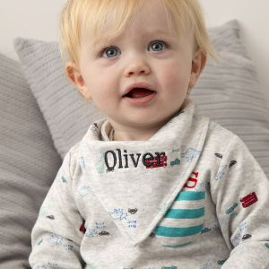 Personalised 3 Pack Dino Bibs
