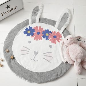 Personalised Bunny Playmat