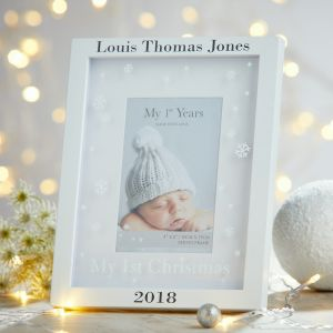 Personalised My 1st Christmas Frame