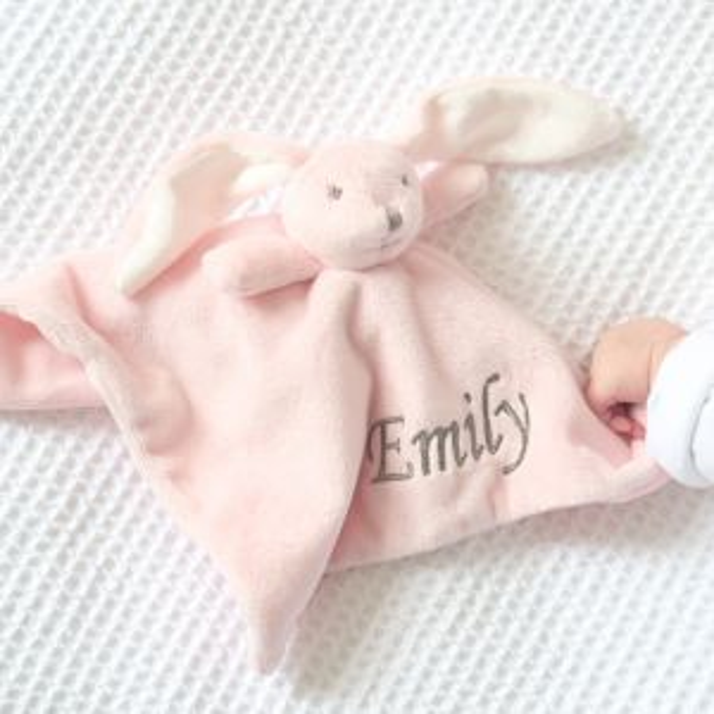 Super Soft Bunny Comforter - Pink